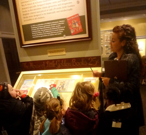 Young reviewers get a close look at our Little Golden Books exhibition
