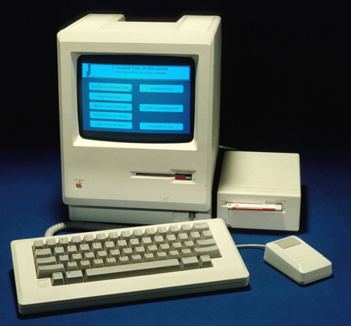 "Apple Macintosh (""classic"" 128K version), 1984, catalog number 1985.0118.01, from the Medicine and Science collections."