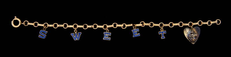 A United States Navy bracelet from World War II