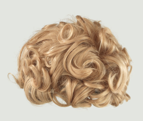 Blonde curly wig. Wig like the one worn by Groucho's brother, Harpo.