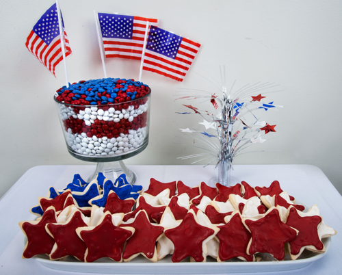 They won't last long on your Flag Day spread!