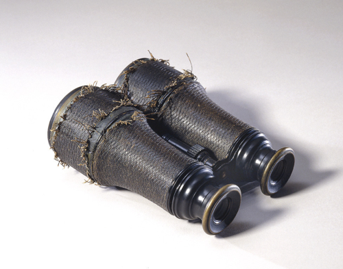 Used by Ulysses S. Grant, these field glasses are also in the museum's collection NMAH-2002-3867-10