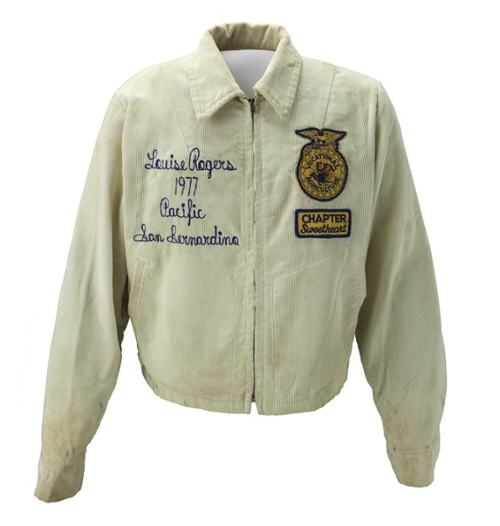 Jacket that belonged to Mary Louise Reynnells