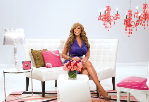 "The first promotional photo shoot for ""The Wendy Williams Show"" in April 2009. Courtesy ""The Wendy Williams Show""."