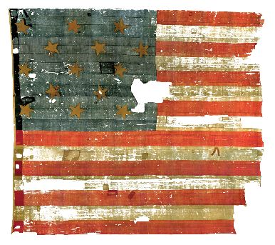 The Star-Spangled Banner, the flag that inspired our national anthem