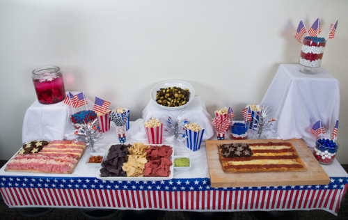Star-Spangled snacks