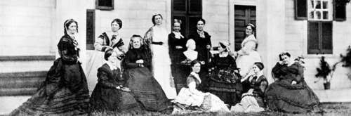 Members of the Mount Vernon Ladies' Association, courtesy of Mount Vernon