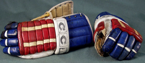 Gloves used by Phil Verchota