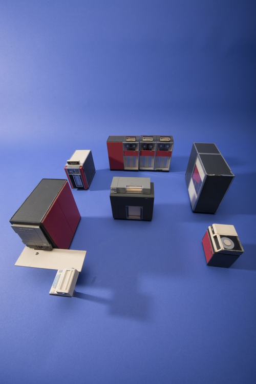 Salesman's Model of an IBM 360 Computer. Gift of Thomas J. Bergin, Smithsonian Image DOR 2013-17306.