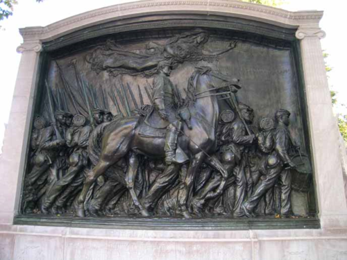Robert Gould Shaw and Massachusetts 54th Regiment Memorial