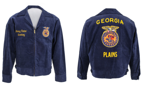 Jimmy Carter was a member of the Plains High School chapter of FFA