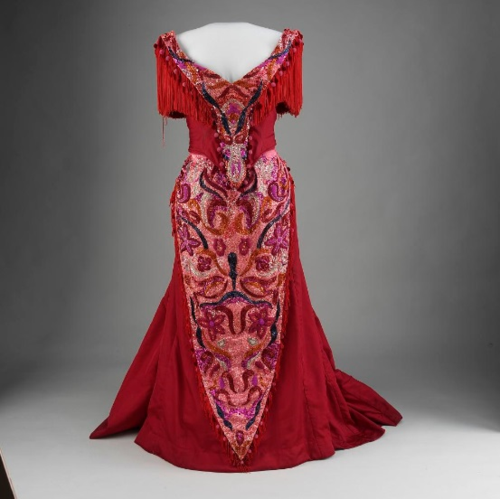 "Carol Channing's dress from ""Hello Dolly!"""