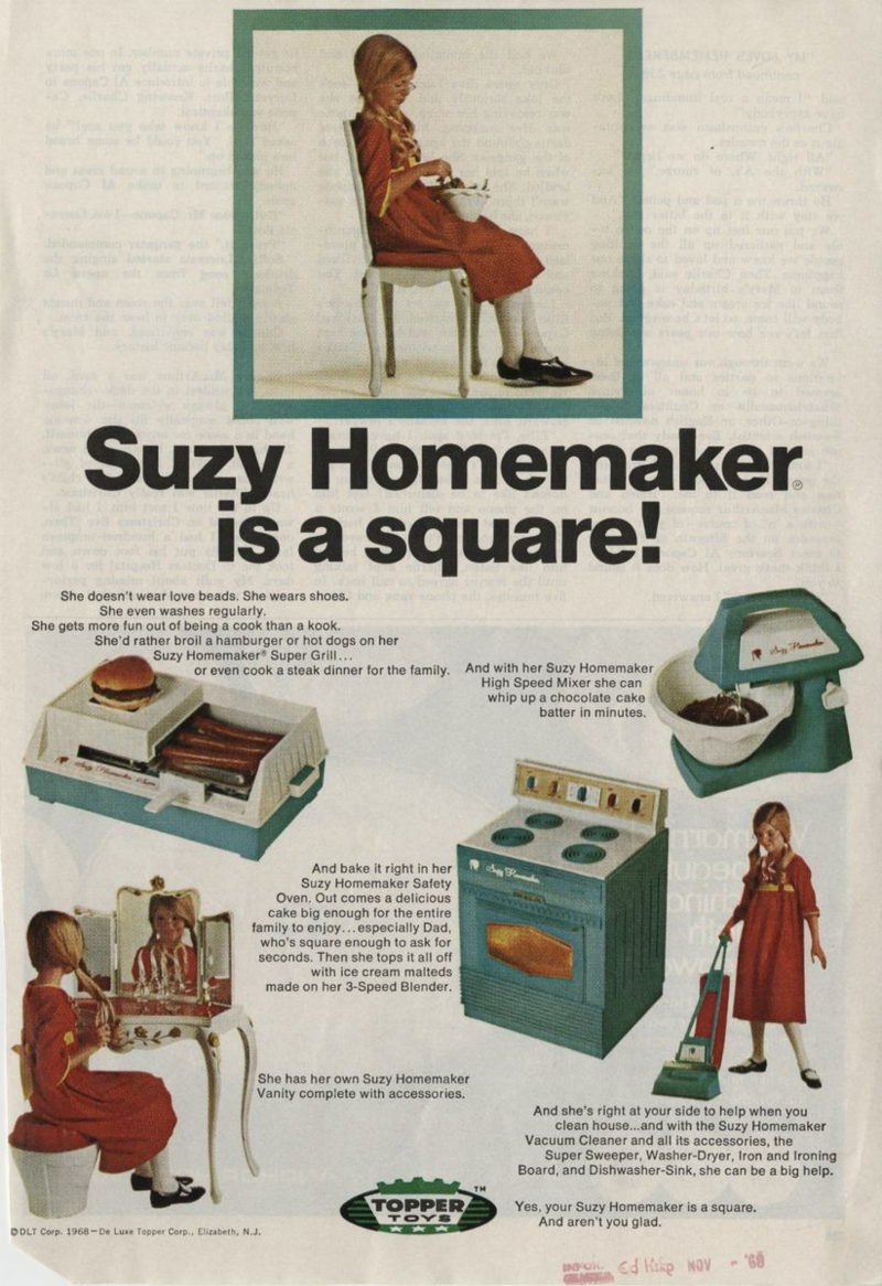 Suzy Homemaker A Slice Of Life From The 1960s National