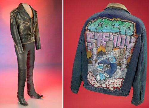 Some iconic Latino objects, like Selena's leather outfit and Crazy Leg's jean jacket, aren't on display right now. That doesn't mean you can't enjoy them online, though.
