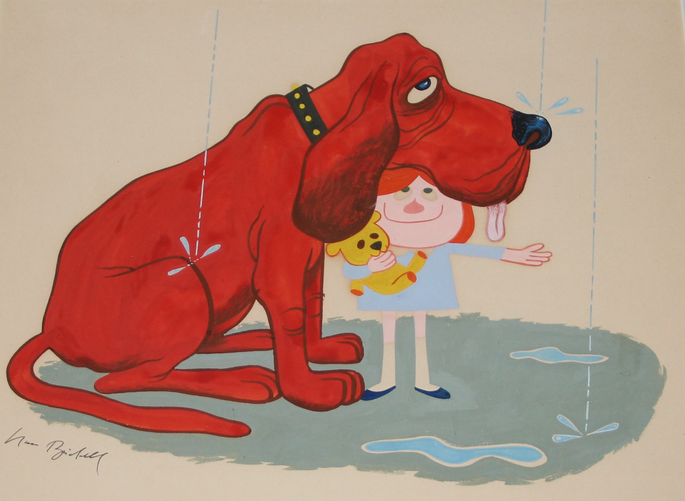 Enjoyable Clifford The Big Red Dog At The Smithsonian National Machost Co Dining Chair Design Ideas Machostcouk