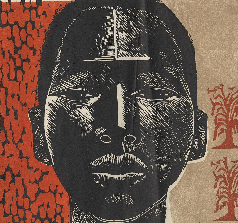 e4e329efc9c Block prints by African American women artists and friends  Margaret Taylor  Burroughs and Elizabeth Catlett