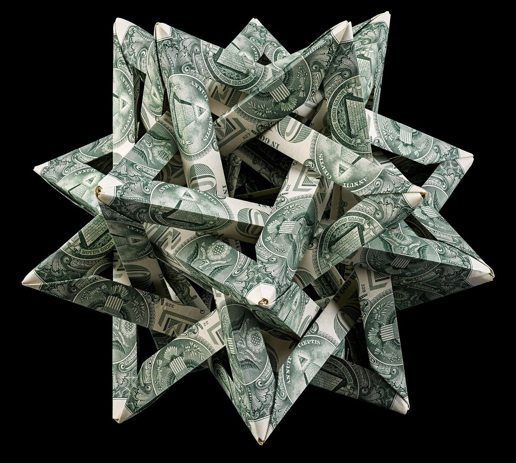 Origami Money folding: Shirt and Tie! | 1476x1645