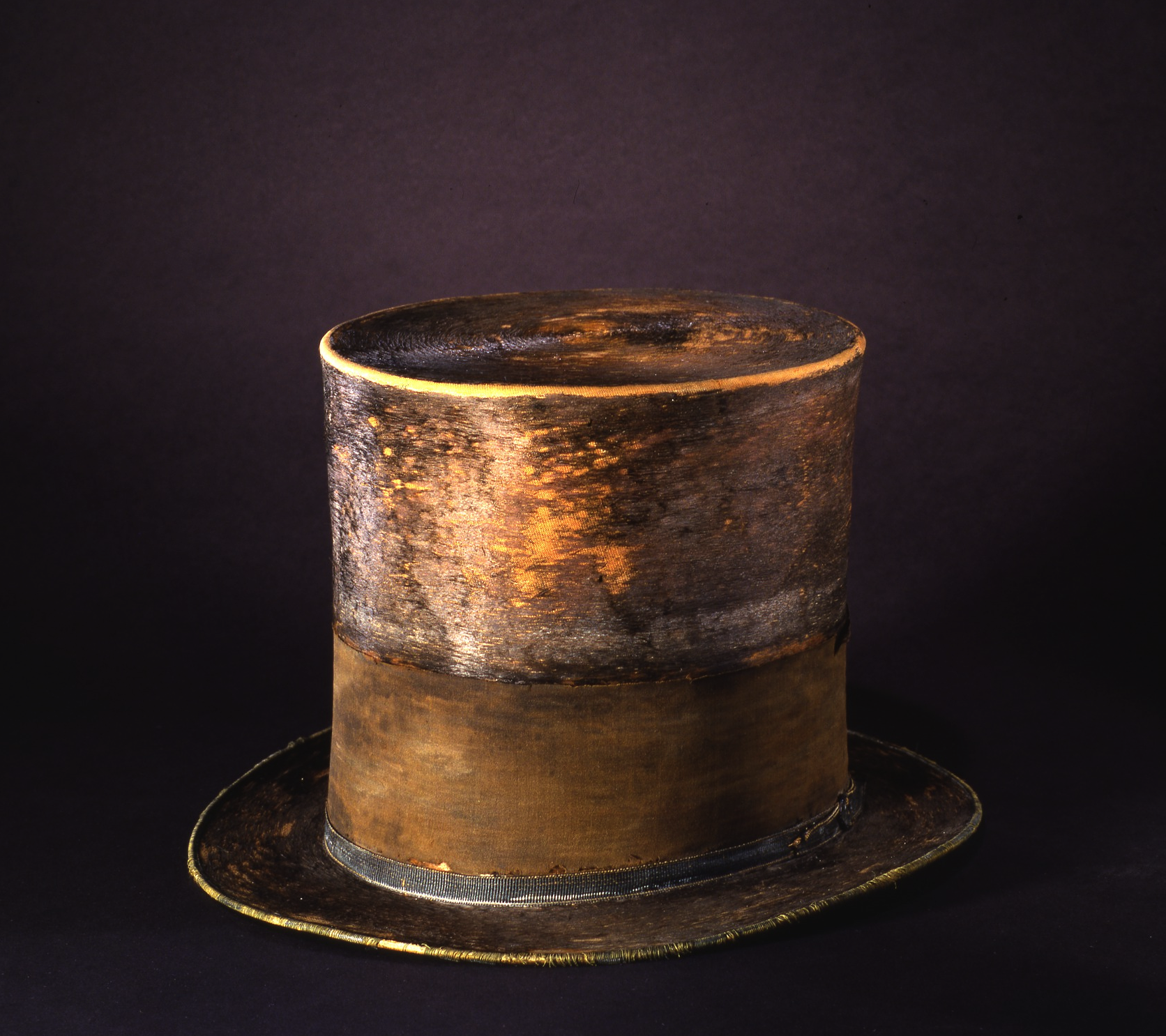a closer look at president lincoln u0026 39 s silk hat