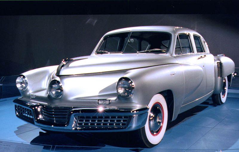 Race to the Museum: Tucker sedan, 1948 | National Museum ...