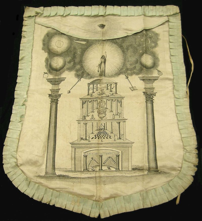 Brother Washington's apron: A Masonic mystery (part 1 of 3