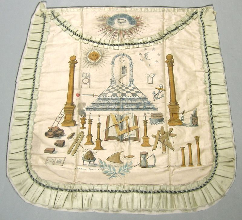 Brother Washington's apron – a Masonic mystery (part 2 of 3