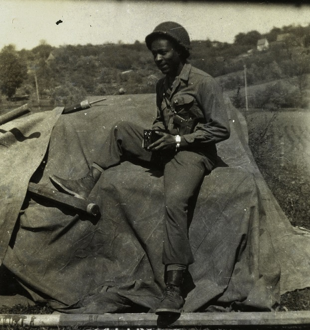 weekly writing african american soldier