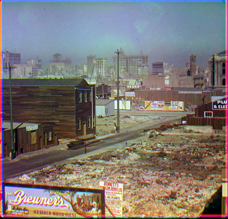 The 1906 San Francisco Quake In Color National Museum
