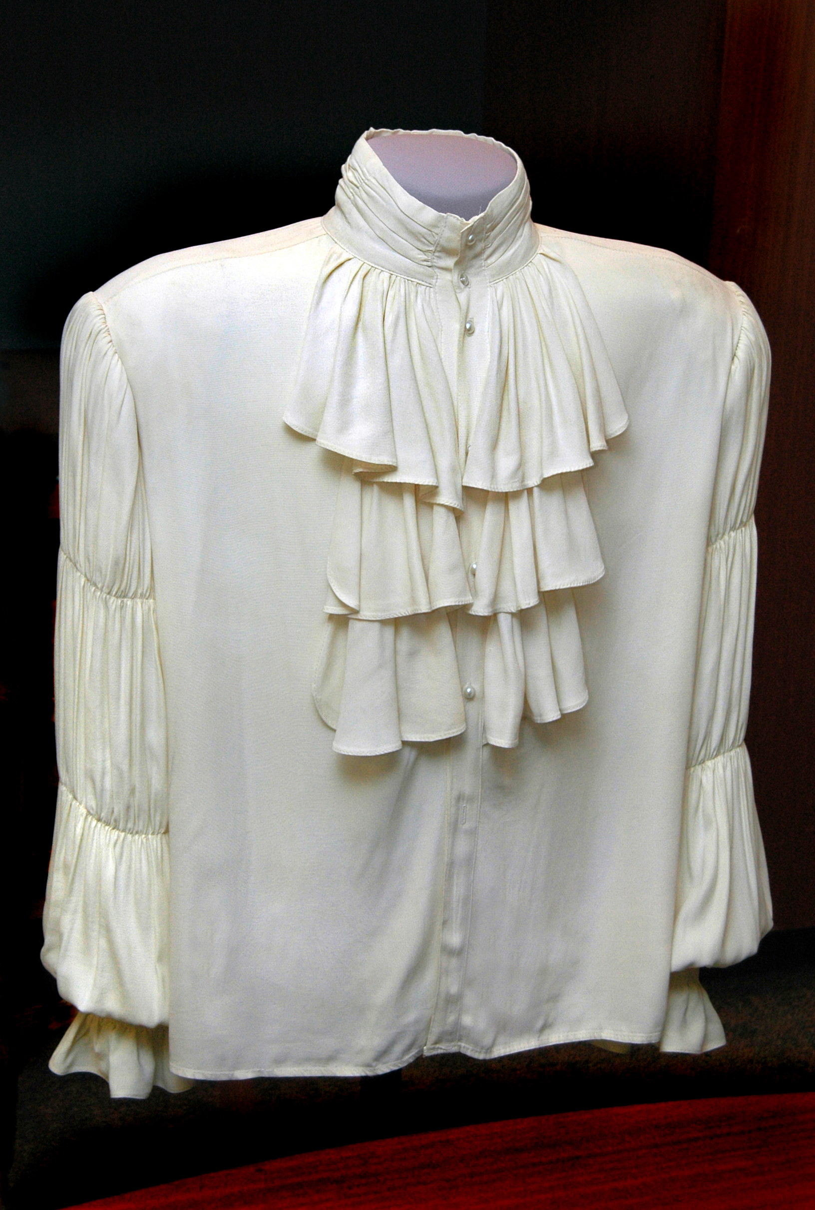 What Is It About The Puffy Shirt National Museum Of