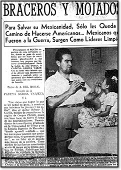 "Aware of the inequalities facing Mexicans in South Texas, World War II veteran Dr. Hector P. Garcia became a ""doctor of the barrio"" and provided affordable medical services and home visits, ultimately opening his own community health practice in Corpus Ch"