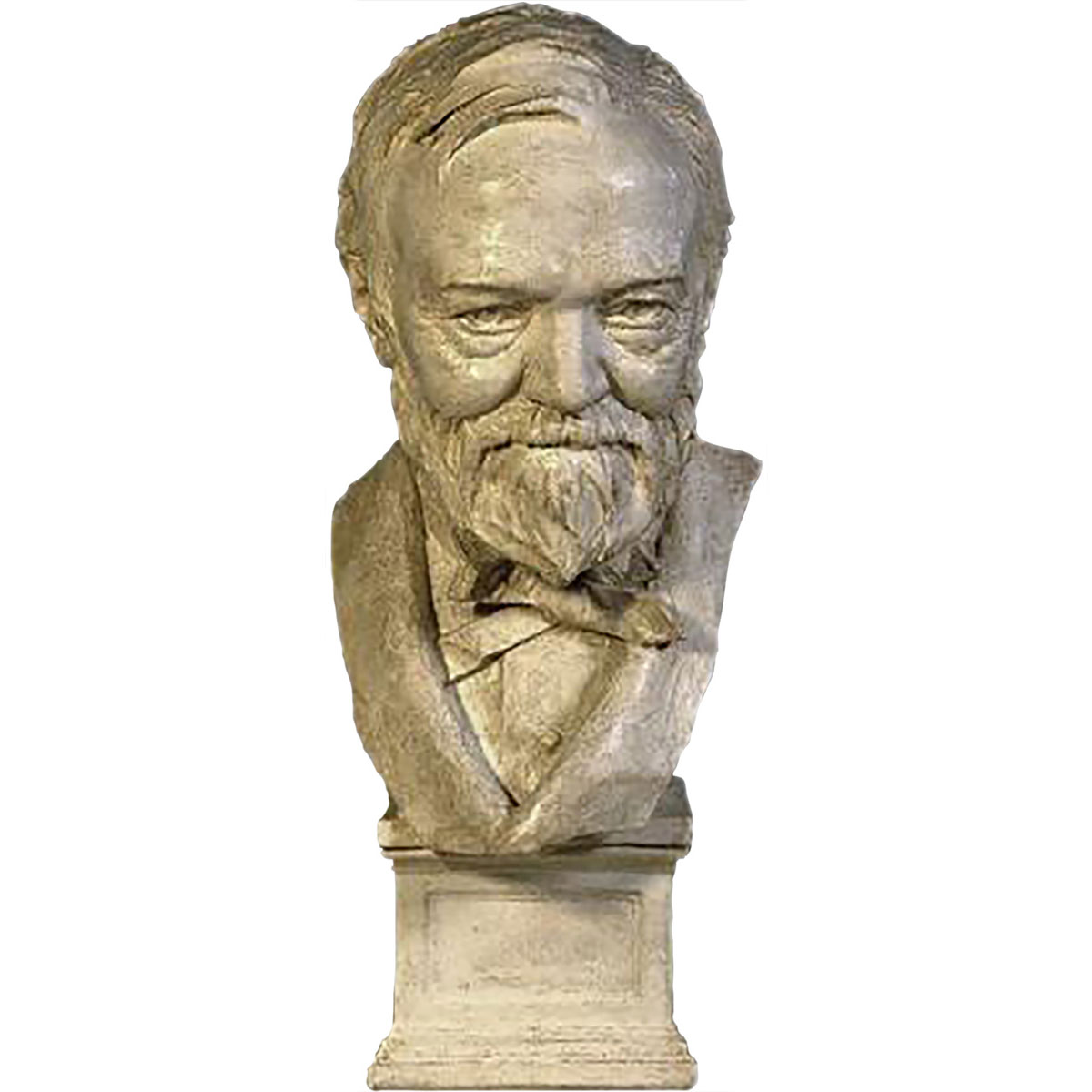 Bust of Andrew Carnegie, 1908