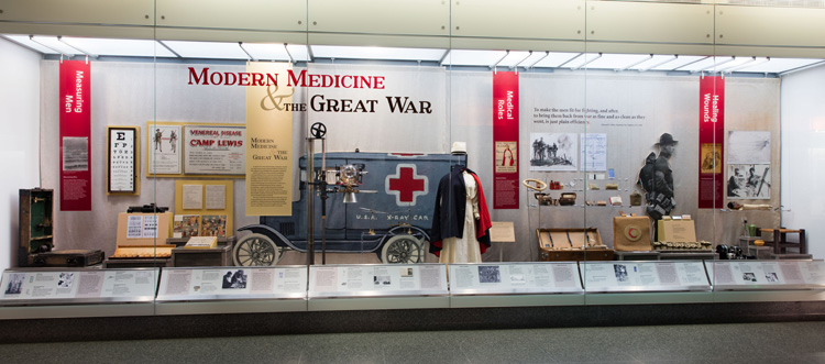 "Photograph of ""Modern Medicine and the Great War"""