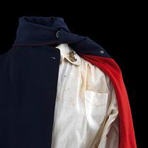 Shoulder of Navy Nurse Corps indoor uniform