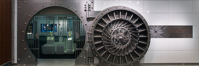 """The Value of Money"" vault door"