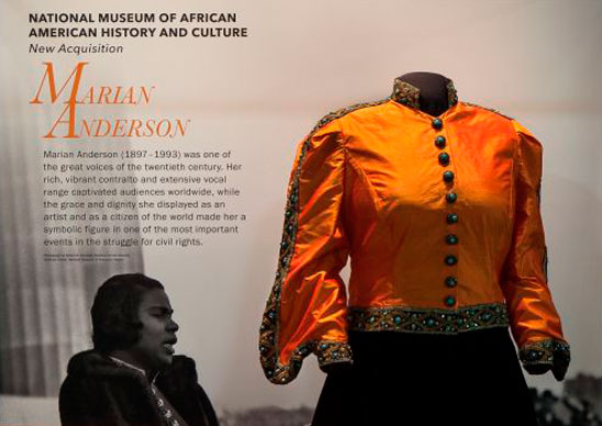 Marian Anderson's dress