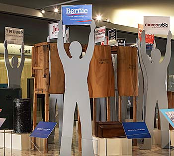 Photo of Hooray for Politics exhibit