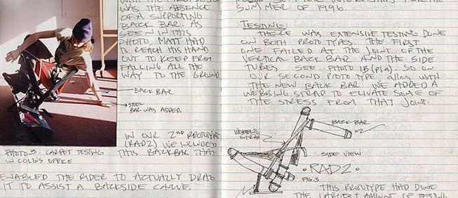 Inventor's notebook