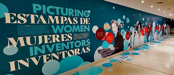 Entrance to Picturing Women Inventors