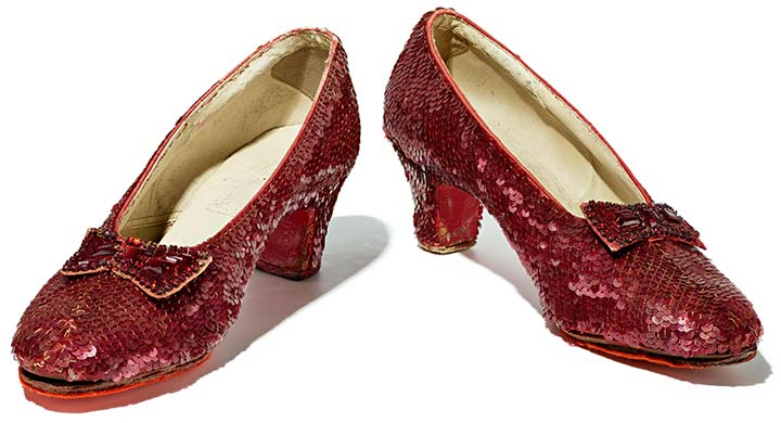 8b4c5f0c1b45 Ruby Slippers and American Culture Displays