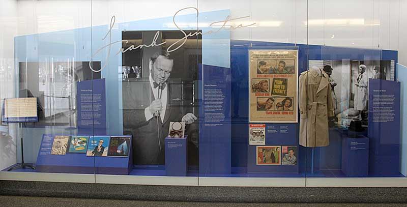 Artifact Walls Frank Sinatra At 100 National Museum Of