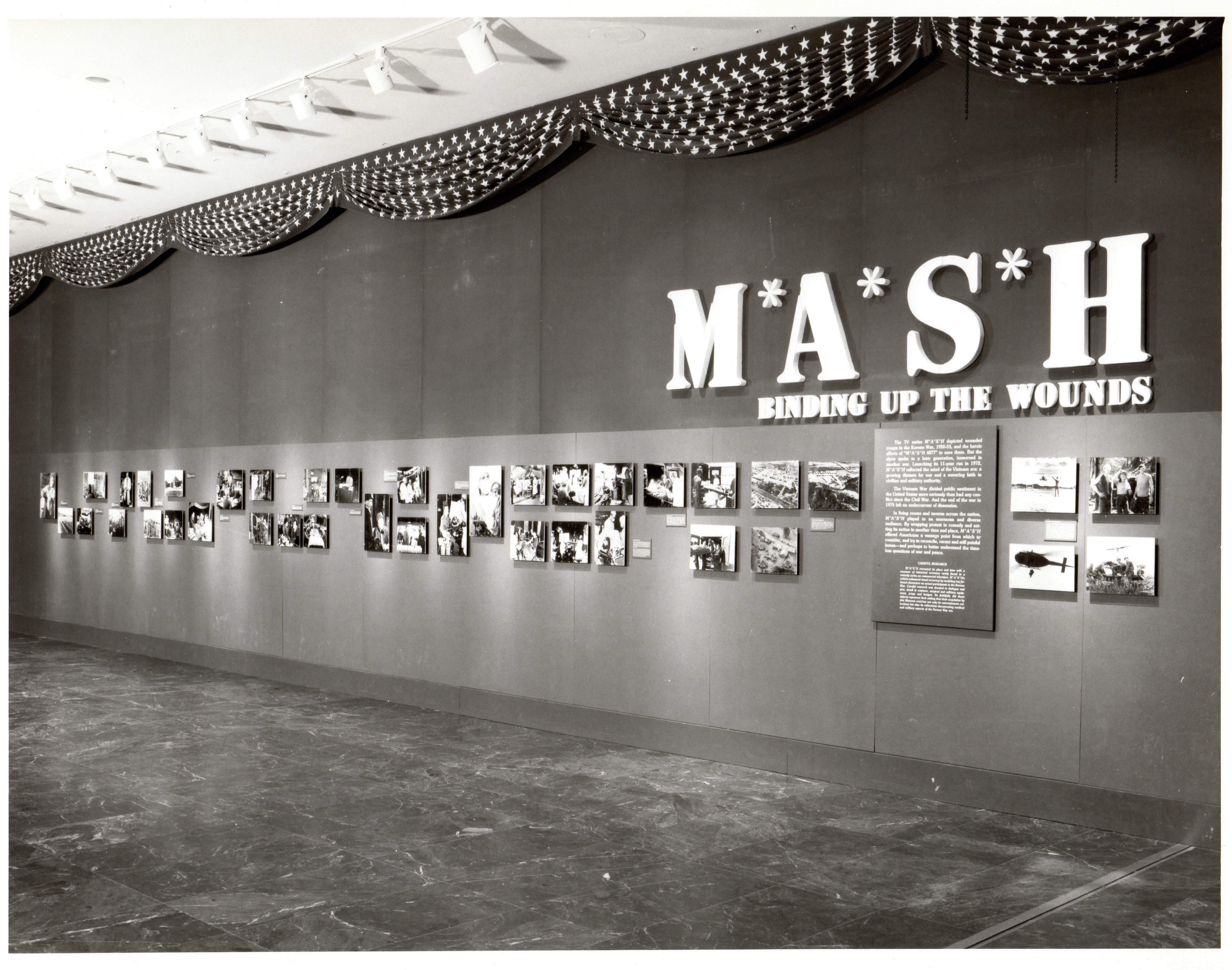 "The opening photo essay of the museum's exhibition on ""M*A*S*H."""