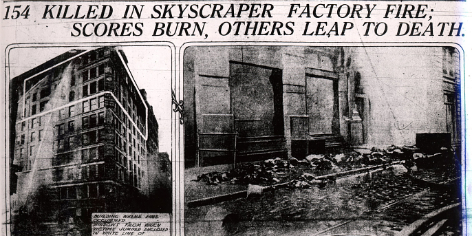 What you may not know about the Triangle shirtwaist ... Triangle Shirtwaist Fire Map