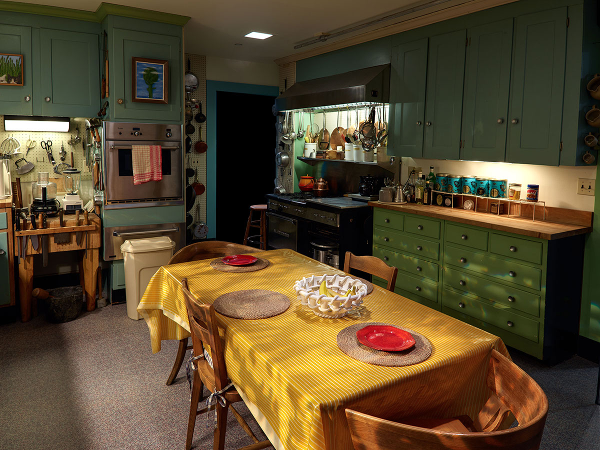 Julia Child's kitchen at the American History Museum
