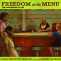 Cover of book, Freedom on the Menu