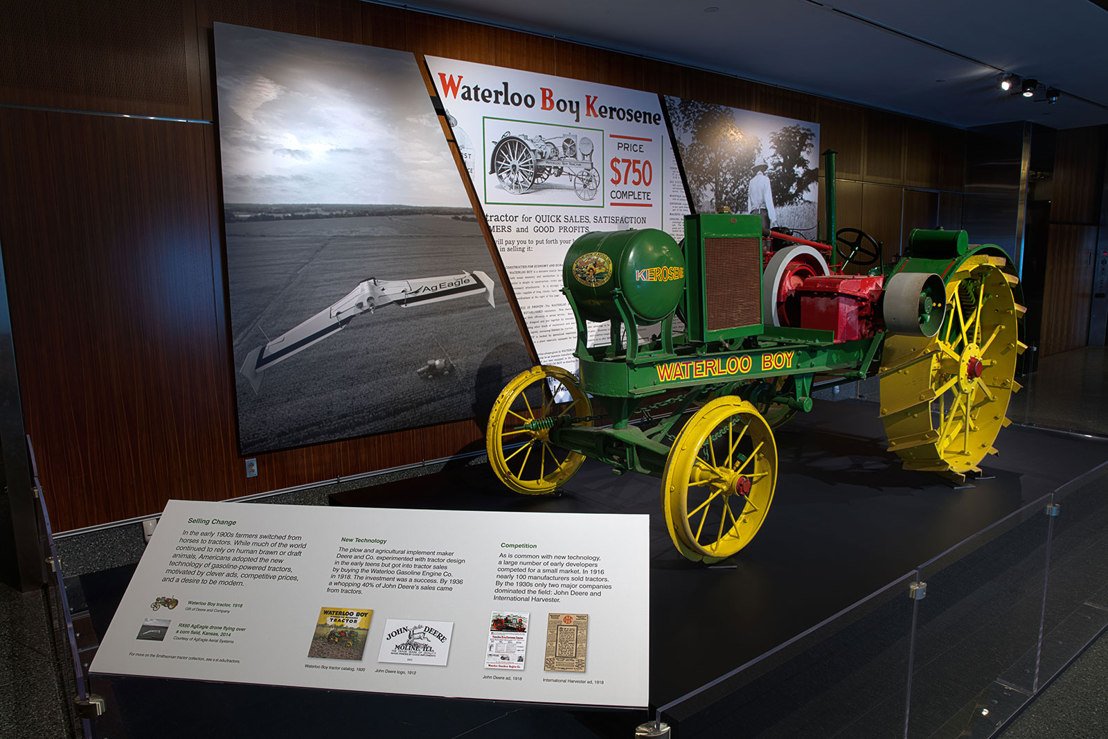 Search Everything Smithsonian Learning Lab 1910 Ford Tractor Electrical Wiring Diagram A Trade Image Of The Waterloo Boy Featuring Green Body Red Seat