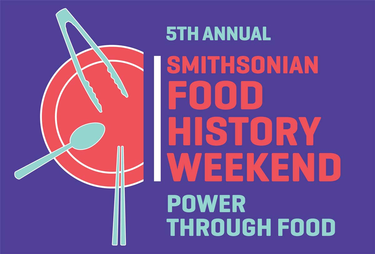 2019 Food History Weekend: Power Through Food logo