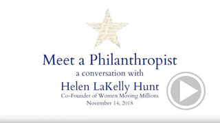 A conversation with Helen LaKelly Hunt