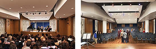 architect renderings of the new Hall of Music