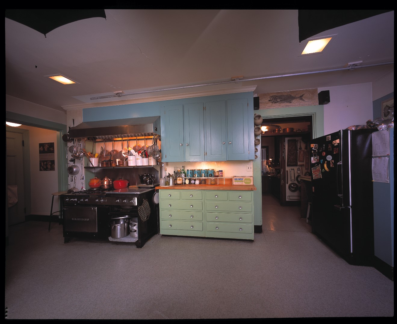 Julia Child's kitchen, 2001