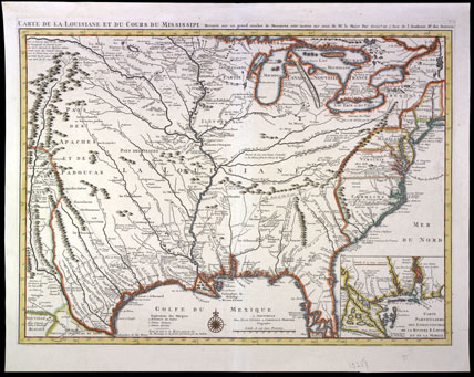 Map Of Spain 1700.The Year Is 1700 National Museum Of American History