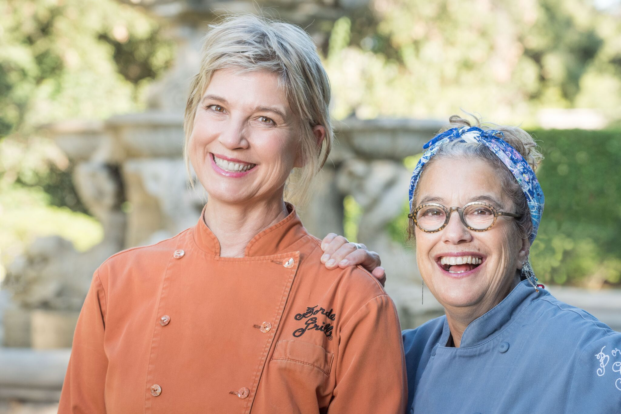 Chefs Mary Sue Milliken and Susan Feniger of Border Grill in Los Angeles